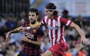 Setny mecz Fàbregasa