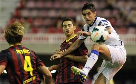 Barcelona B 1:0 Zaragoza