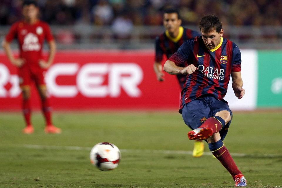 """Messi, """"10"""" Asian Tour: 5 bramek i 5 asyst"""