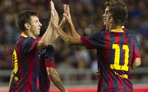 Messi i Neymar zagrali razem tylko godzinę