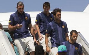 Drużyna wraca do Barcelony