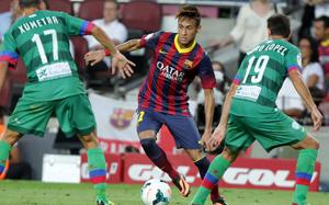 Neymar zmotywowany, mimo wejścia z ławki