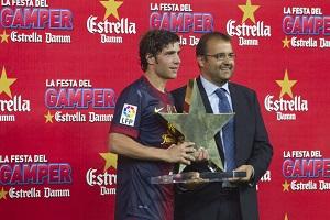 Sergi Roberto, ostatni MVP Pucharu Gampera