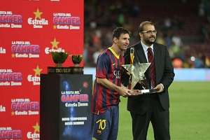 Messi wybrany MVP Pucharu Gampera