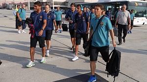 Drużyna wróciła do Barcelony