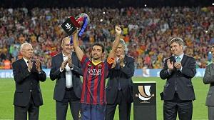 25. trofeum Xaviego Hernándeza w karierze