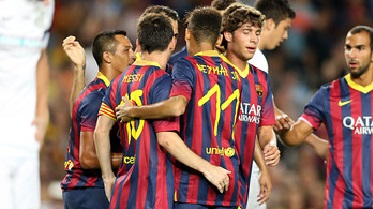 Piękne bramki i duże nadzieje. Barcelona – Santos (8-0)