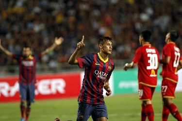 Festiwal goli w Bangkoku. Tajlandia 1-7 FC Barcelona