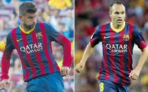 Przedłużenie kontraktów Iniesty i Piqué