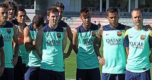 Messi i Neymar pierwszy raz razem na boisku