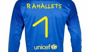 Nazwisko Ramalletsa na koszulkach bramkarzy Barçy