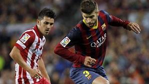 Villa wygwizdany na Camp Nou