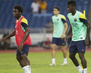 Dongou i Bagnack wracają do Barçy B