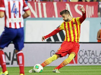 Neymar na remis: Atlético Madryt – FC Barcelona (1:1)