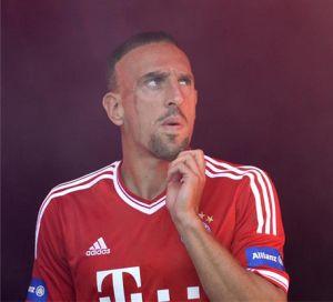 Ribéry najlepszym piłkarzem w Europie według UEFA