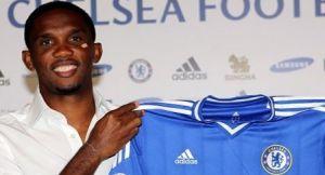 """Samuel Eto""""o w Chelsea"""