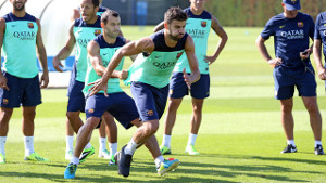 Barça wraca do treningów