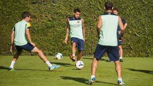 Martino i Alves nowością na treningu