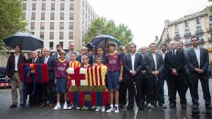 FC Barcelona celebruje Narodowy Dzień Katalonii