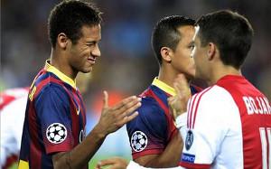 300 spotkań Neymara