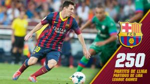 Z Rayo Messi może zagrać swój 250. ligowy mecz