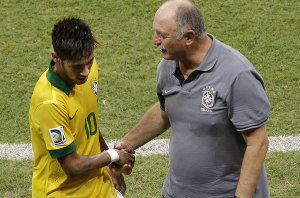Scolari: Neymar ewoluował