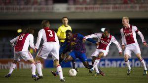 Młode gwiazdy Ajaxu, z Miniestadi na Camp Nou