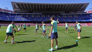 Ostatni trening przed meczem z Ajaxem