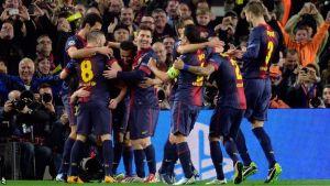 FC Barcelona – Ajax Amsterdam; Składy