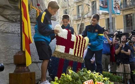Barça złoży wieniec pod pomnikiem Rafaela Casanovy