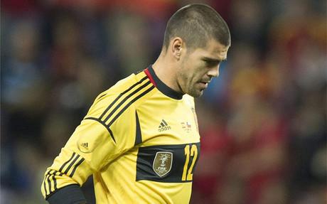 Valdés bronił w meczu z Chile