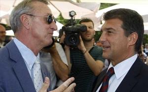 Laporta: Ani Cruyff, ani Pep nie powinni być atakowani