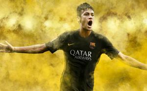 Neymar w trzecim komplecie strojów FC Barcelony