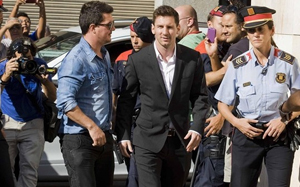 Messi zeznawał w sądzie
