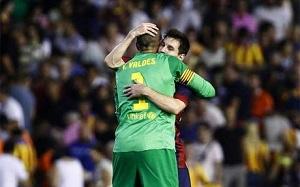Valdés: Zdobywanie punktów na takich stadionach jak ten jest kluczowe