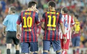 Neymar: Messi jest jednym z moich idoli