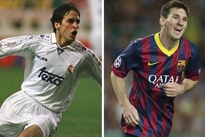 Messi dogonił Raúla