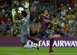 Neymar: Gramy bardzo dobrze, każdego dnia lepiej