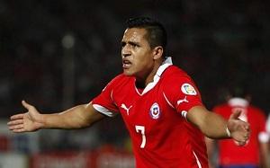 Alexis Sánchez powołany do reprezentacji Chile