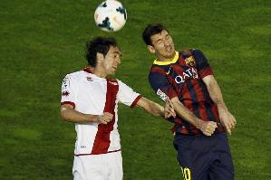 Raúl: To Messi powinien podać mi rękę