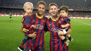 Neymar i Messi – zwycięska kombinacja