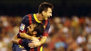 Messi bije na Mestalla kolejne rekordy