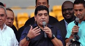 Maradona: Mam nadzieję, że nie zrobią z niego kulturysty