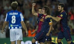 Korzystny bilans Barcelony i Realu