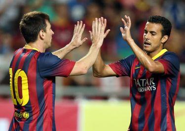 Hat-trick Pedro i pewne zwycięstwo: Rayo Vallecano – FC Barcelona (0-4)