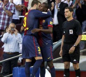 Abidal: Piqué nie umie milczeć