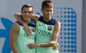 Neymar i Alexis przeciwko sobie