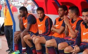 Neymar po miesiącu znów na ławce