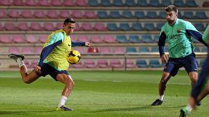 Trening i lista powołanych na Espanyol