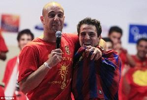 Fàbregas chce Reinę w Barcelonie